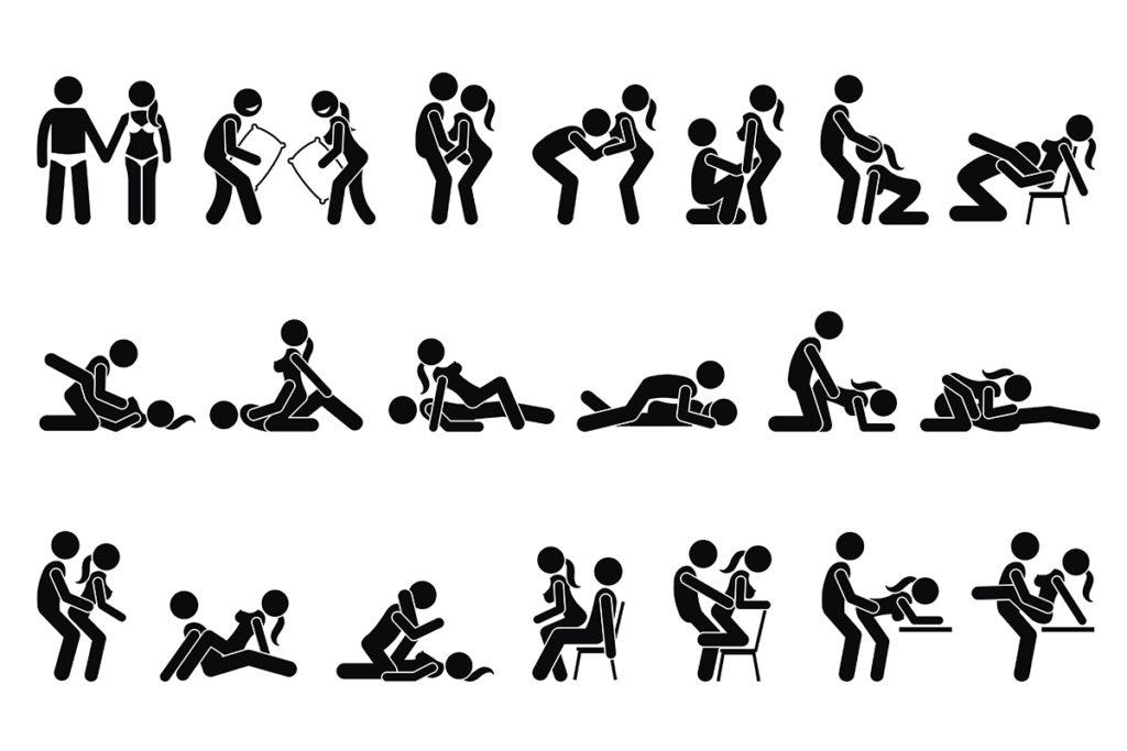 Позы для секса, самые популярные или которые стоит попробовать